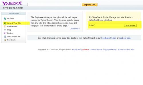 Yahoo Explorer Tool