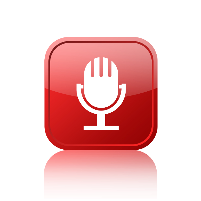 Sound button for podcasts