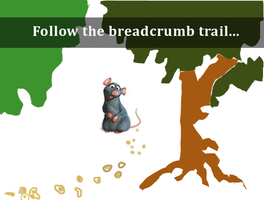 Who ate my breadcrumbs?