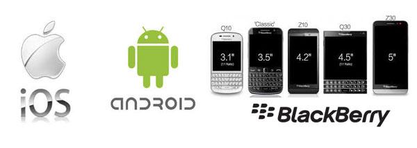 3 main Smartphones